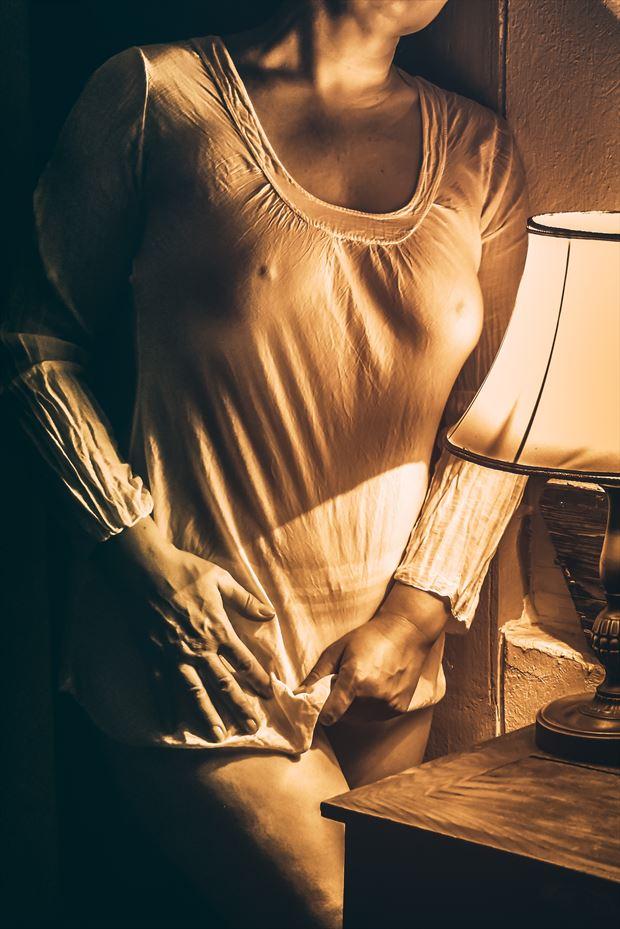 Lingerie Vintage Style Photo print by Photographer BenGunn