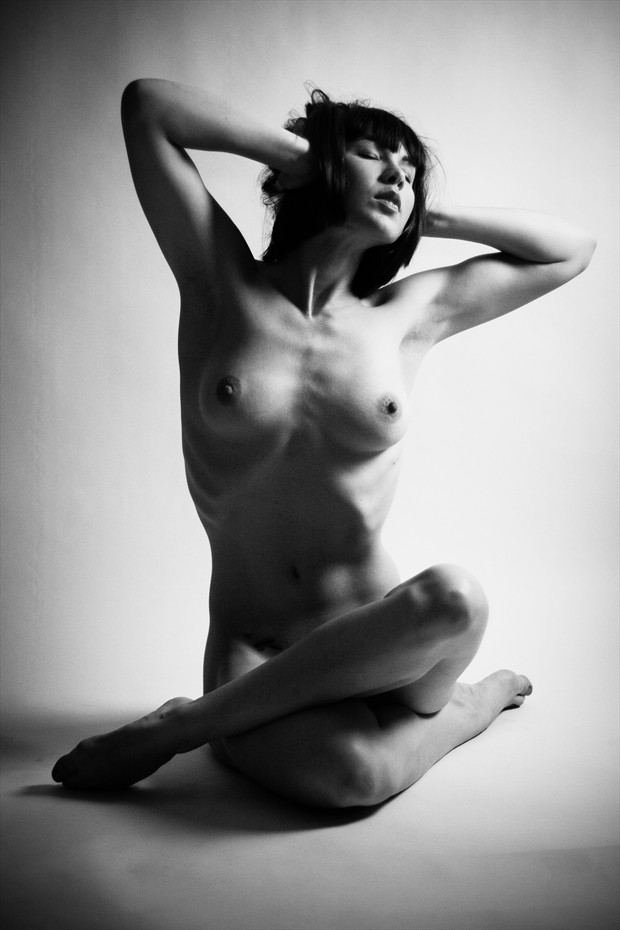 Listen to the Silence Artistic Nude Photo print by Photographer 3 Graces Photography