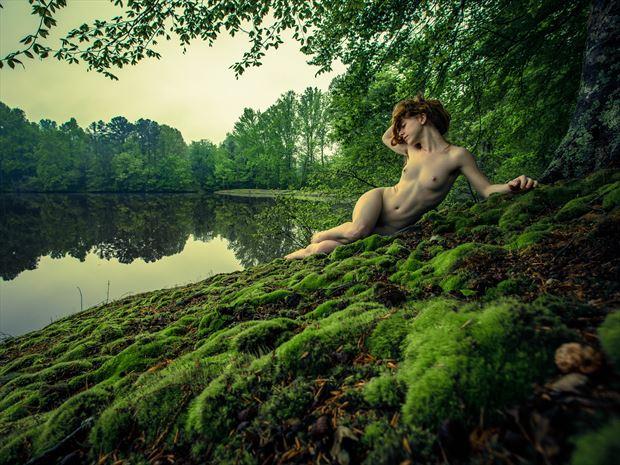 Liv Sage Artistic Nude Photo print by Photographer BmanPhotos
