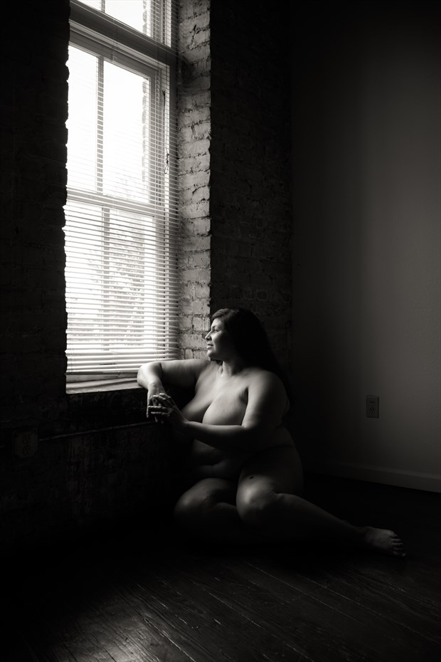 Lofty Thoughts Artistic Nude Photo print by Photographer Frisson Art