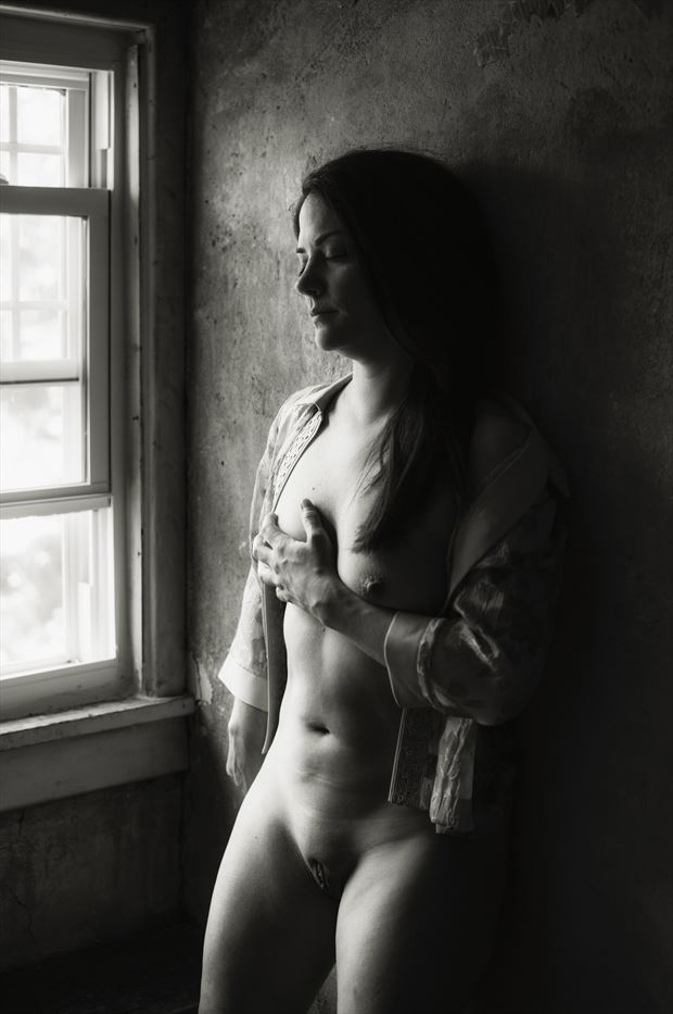 Longing Vintage Style Photo print by Model JessicaKlaus