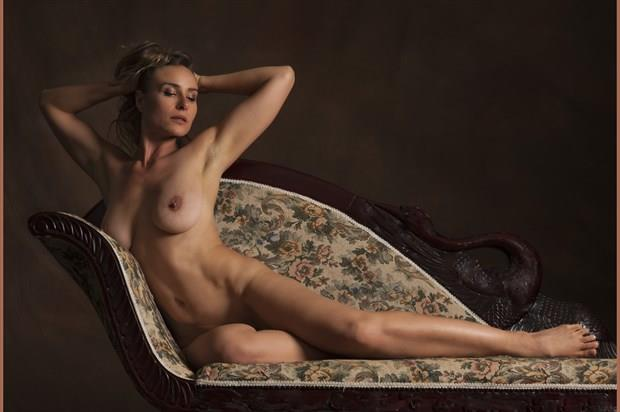 Lounge of beauty Artistic Nude Photo print by Photographer Tommy 2's