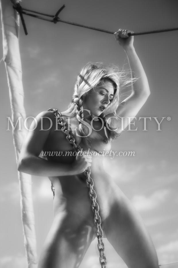 Lowering the Anchor Artistic Nude Photo print by Photographer Carl Grim