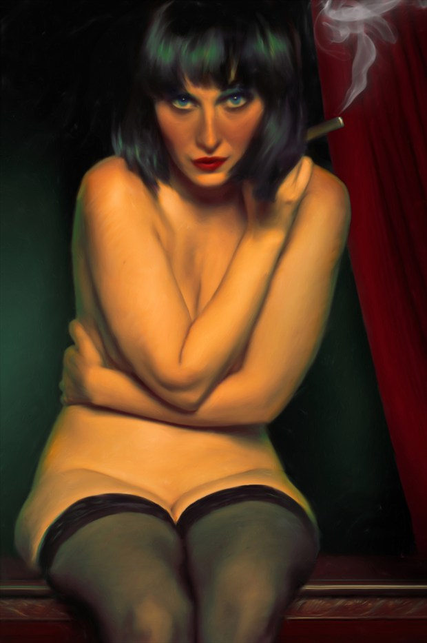 Macanudo Artistic Nude Artwork print by Artist Van Evan Fuller