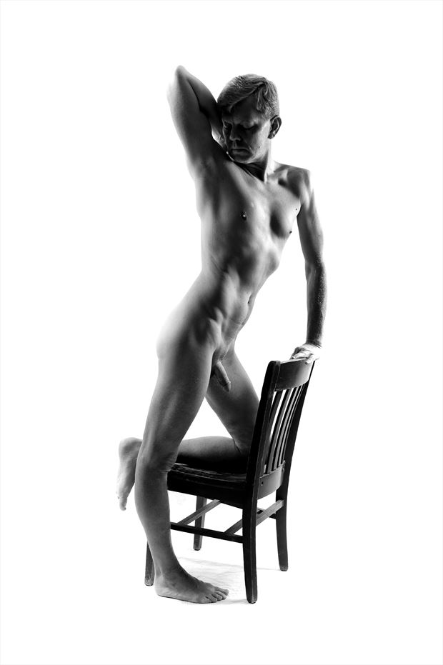 Male Form Artistic Nude Photo print by Photographer rdp