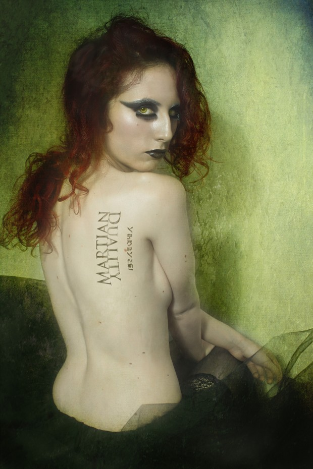 Martian Duality Artistic Nude Photo print by Photographer Jos%C3%A9 M. Mendez