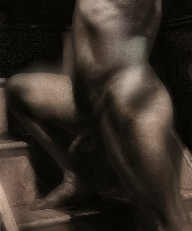 Masculinity in Dreamstate Artistic Nude Photo print by Photographer Photorunner
