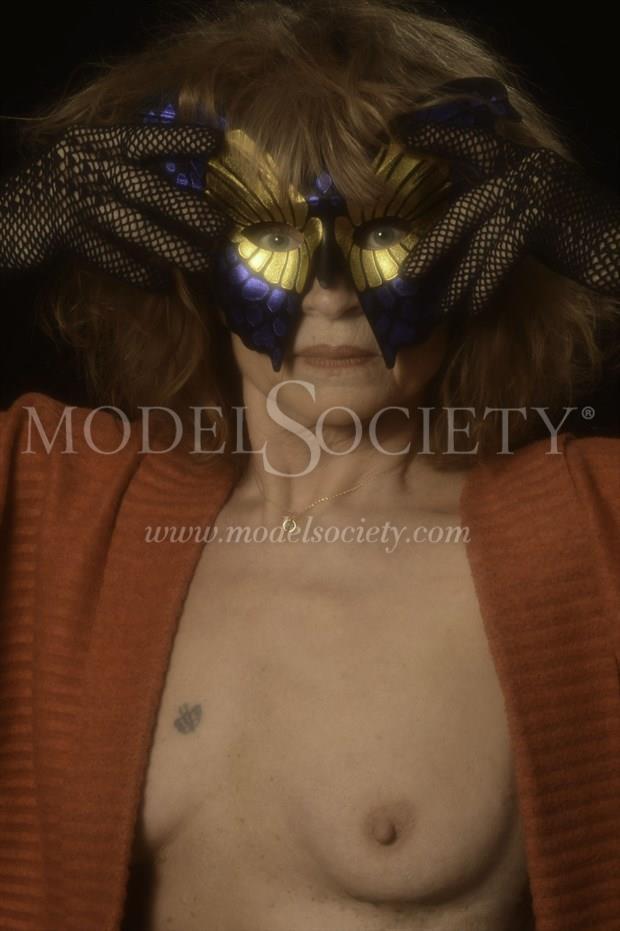 Masquerade Artistic Nude Photo print by Photographer StudioVi2