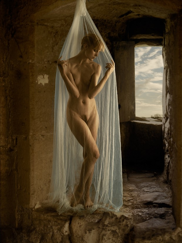 Medieval Nude Artistic Nude Photo print by Photographer Ray Kirby