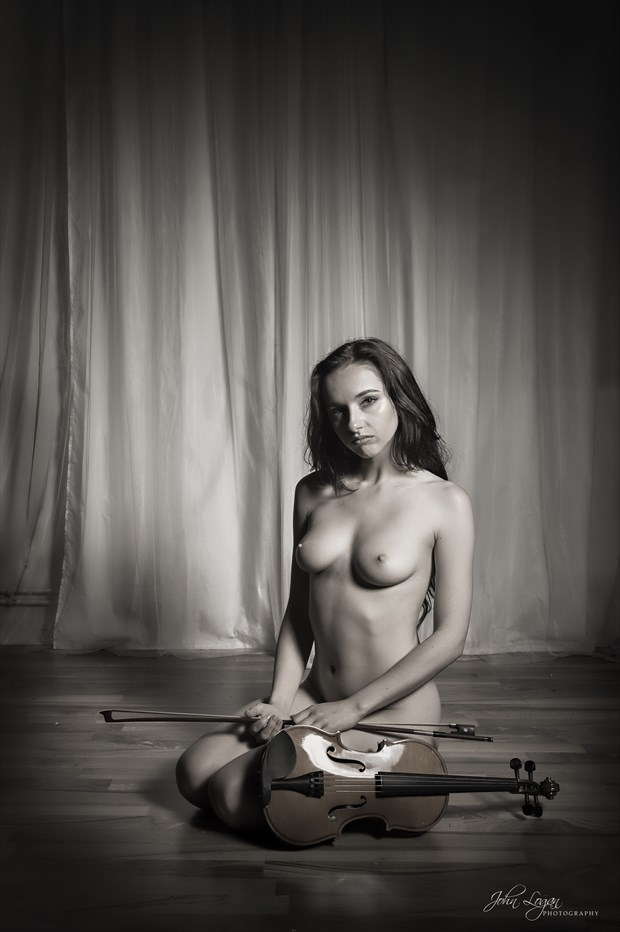 Melody Artistic Nude Photo print by Photographer John Logan