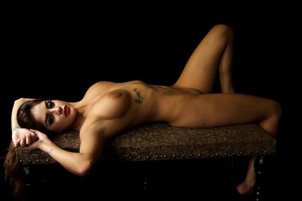 Mila Rose %232 Artistic Nude Photo print by Photographer Z Inner Eye