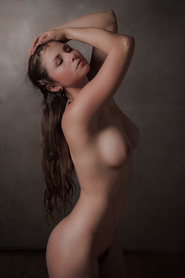 Molly Standing Nude Artistic Nude Photo print by Photographer Risen Phoenix