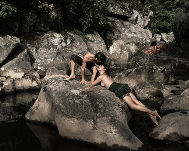 Mon Petit Prince Artistic Nude Photo print by Model Reece de la Tierra