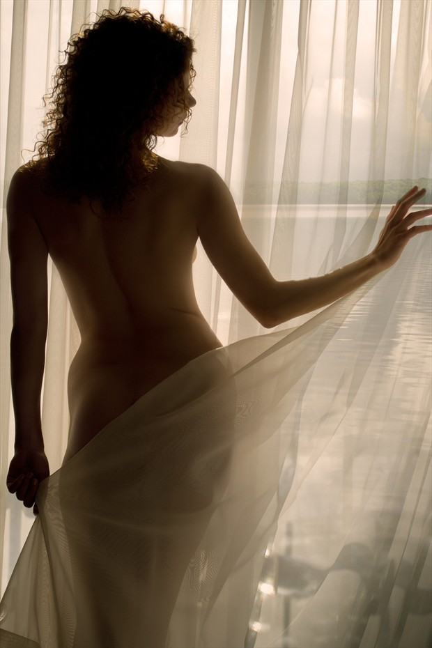 Morning Light Implied Nude Photo print by Artist Todd F. Jerde