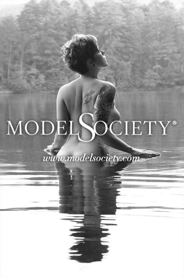 Morning Swim Artistic Nude Photo print by Photographer Constantine Studios