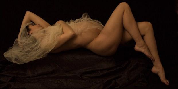 Mother Waiting Artistic Nude Photo print by Photographer ShadowandLightPhotos