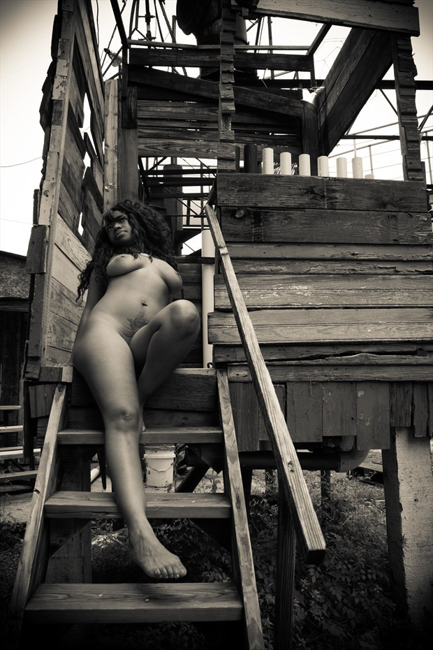 Musical Box Artistic Nude Photo print by Photographer Frisson Art