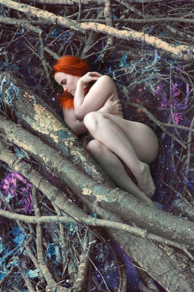 My Dream Artistic Nude Photo print by Model AtenaMy