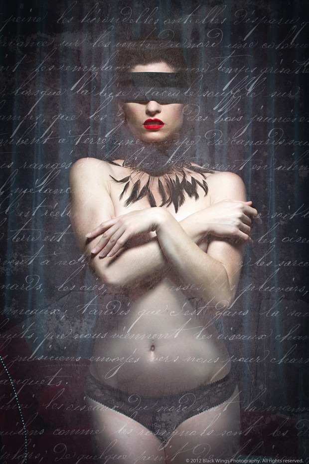 My last letter to you... Artistic Nude Photo print by Photographer Black Wings