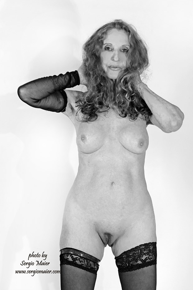 NUDE by SERGIO MAIER 2016 Artistic Nude Photo print by Model Christine Berl