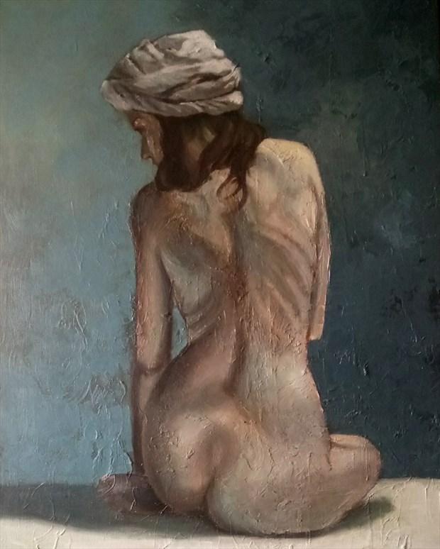 Nina Artistic Nude Artwork print by Artist Daniel