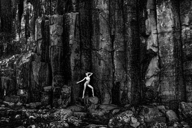 No Escape Artistic Nude Photo print by Photographer Stephen Wong