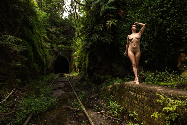 No Trains Artistic Nude Photo print by Photographer Stephen Wong