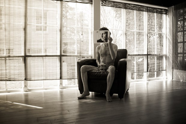 Non Anon Artistic Nude Photo print by Photographer Frisson Art