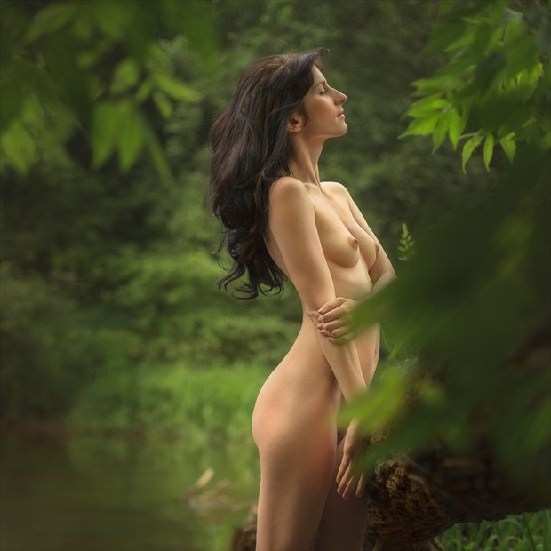 Nymph river Artistic Nude Photo print by Photographer dml