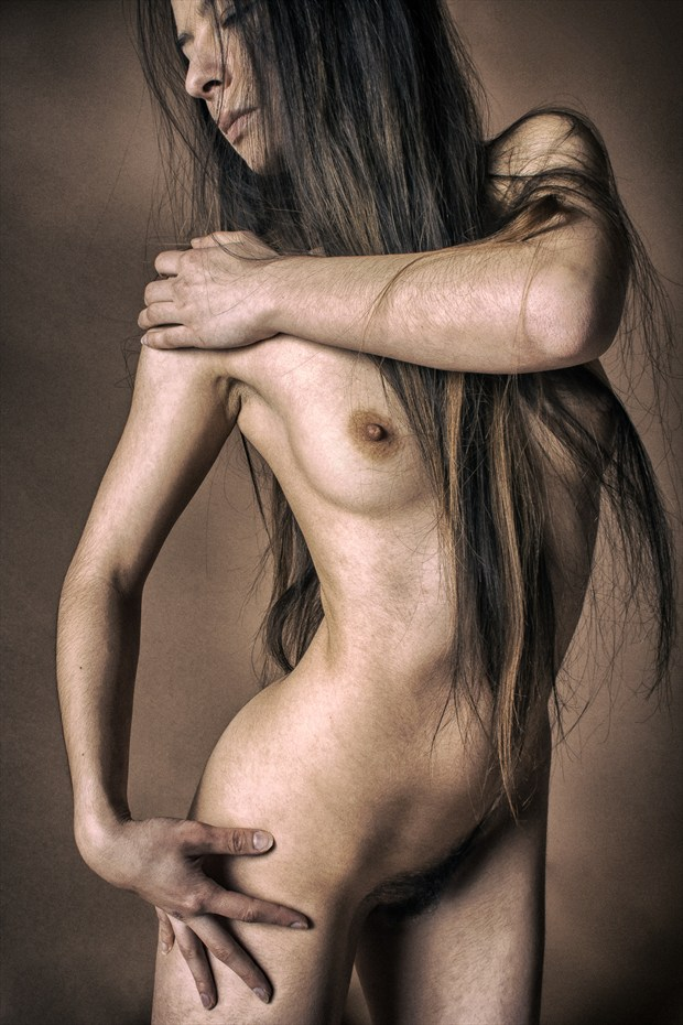 Oh that Hair 3 Artistic Nude Photo print by Photographer rick jolson