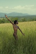 On Hurlburt's Hill Artistic Nude Photo print by Artist Kevin Stiles