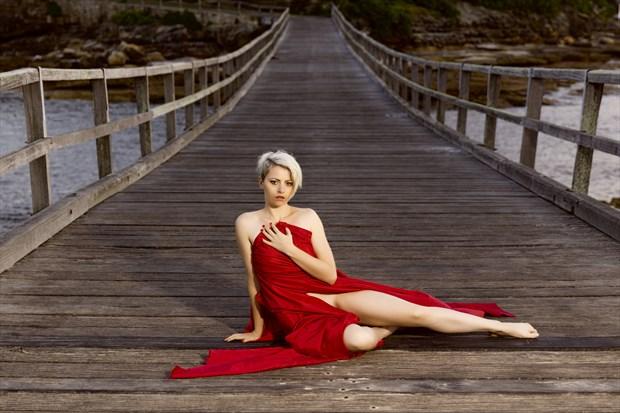 On the Bridge Glamour Photo print by Photographer Stephen Wong