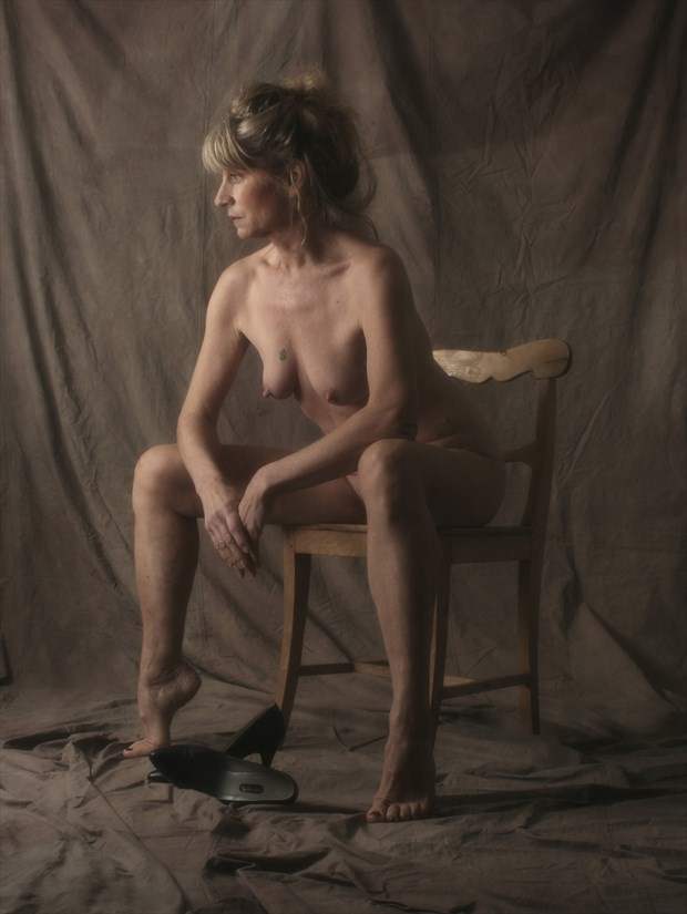 On the chair Artistic Nude Photo print by Photographer StudioVi2
