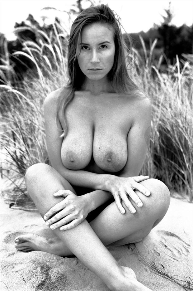 On the dunes 1 Artistic Nude Photo print by Photographer Joe Klune Fine Art