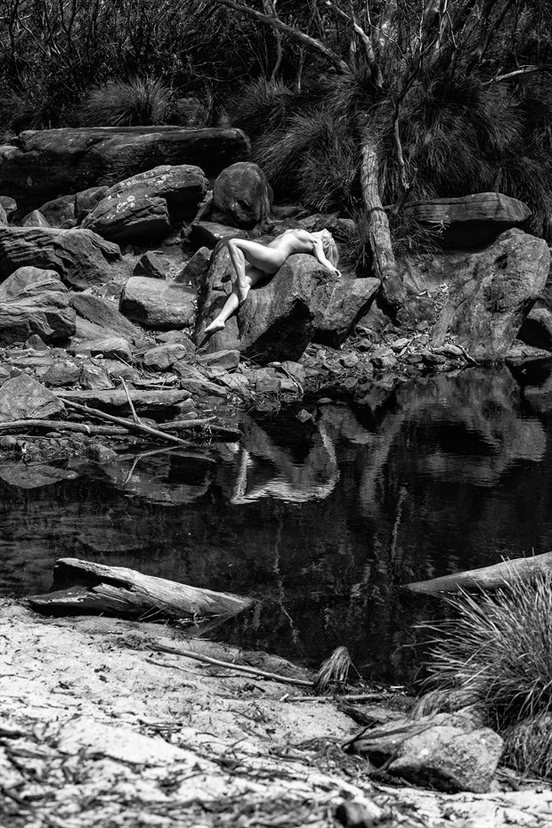 One with Nature Artistic Nude Photo print by Photographer Stephen Wong