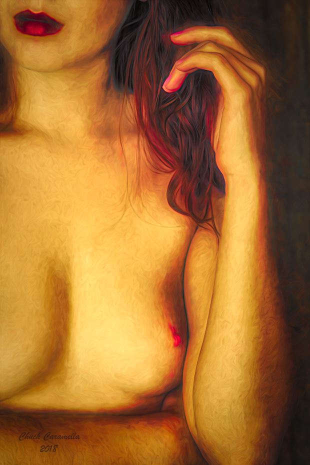 PROUD MARY ... Artistic Nude Artwork print by Artist NITROUS