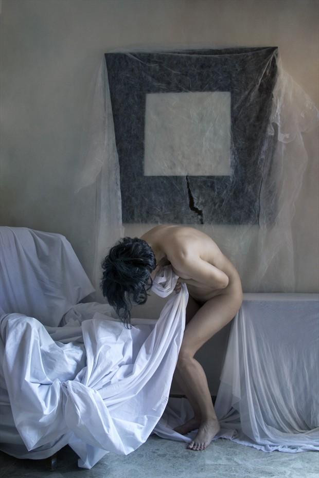 Pain Artistic Nude Photo print by Photographer Jos%C3%A9 M. Mendez