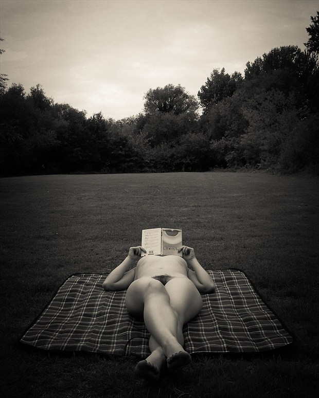 Park Life Artistic Nude Photo print by Photographer Frisson Art
