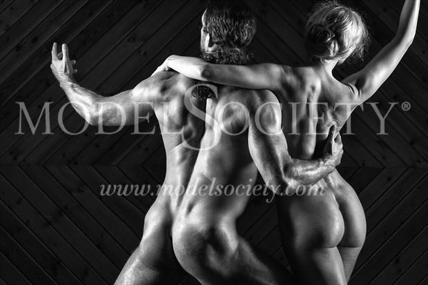 Partners Artistic Nude Photo print by Photographer Carl Grim