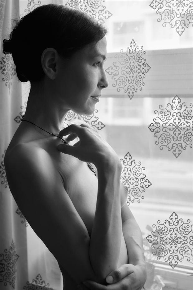 Pensive Vox  Artistic Nude Photo print by Photographer Daniel Tirrell photo