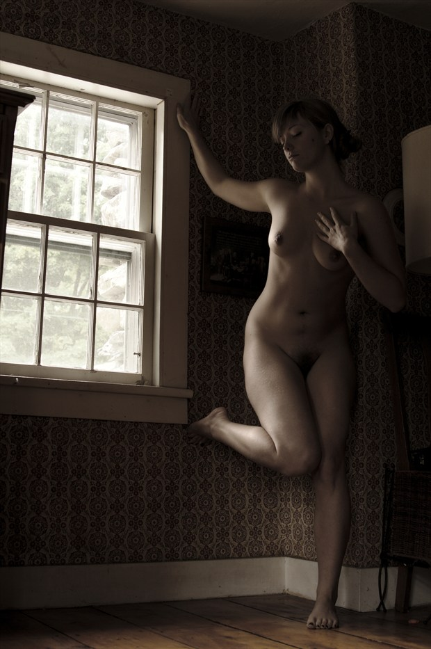 Penumbra Dance Artistic Nude Photo print by Photographer Adero