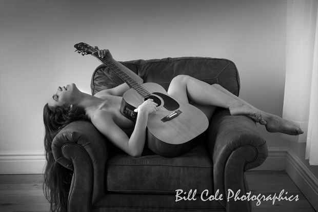 Playing Around Artistic Nude Photo print by Photographer Bill Cole