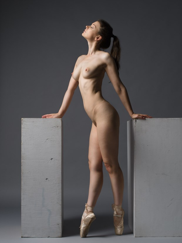Pointes of contact %232 Artistic Nude Photo print by Photographer Bruce M Walker