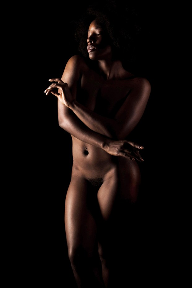 Poise Artistic Nude Photo print by Photographer Kor