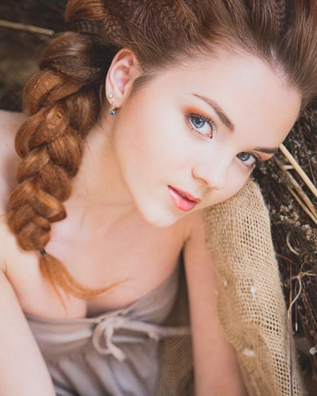 Portrait Photo print by Model KatherinSher