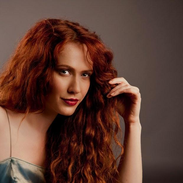 Portrait of Annie Studio Lighting Photo print by Photographer Doug Ross