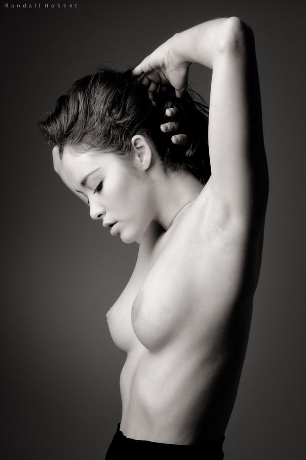 Portrait of Viktoriia Artistic Nude Photo print by Photographer Randall Hobbet