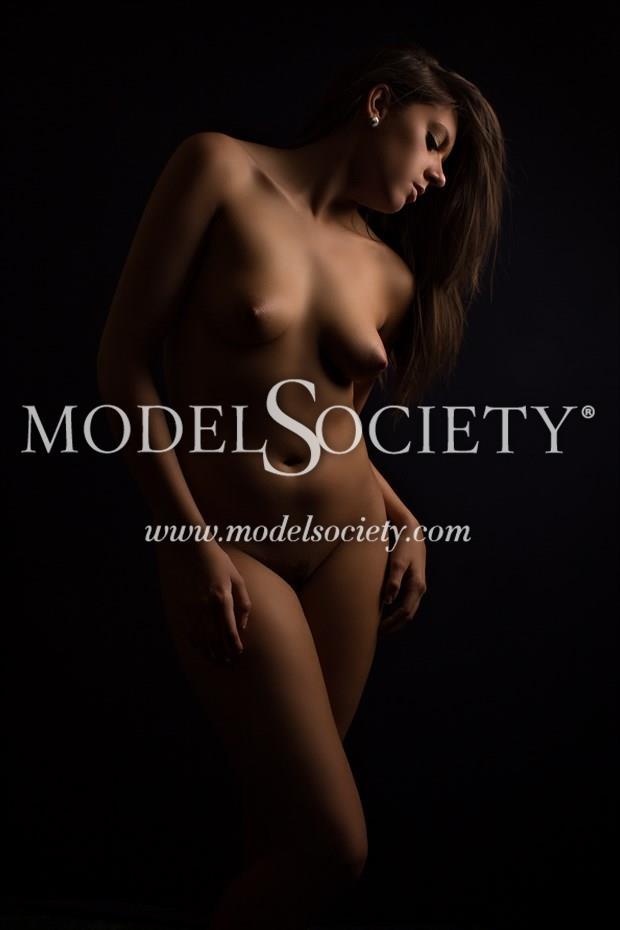Pose 4 Light Testing Artistic Nude Photo print by Photographer Constantine Studios