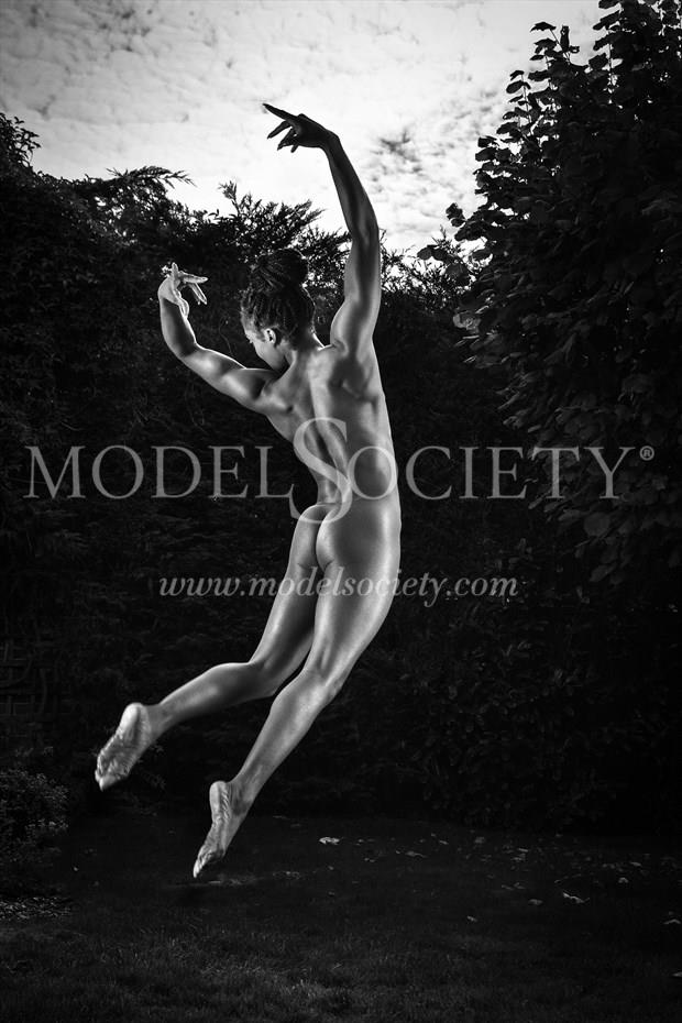 Power Artistic Nude Photo print by Photographer Carl Grim