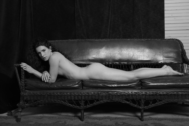 Pretty Baby Artistic Nude Photo print by Photographer Leland Ray
